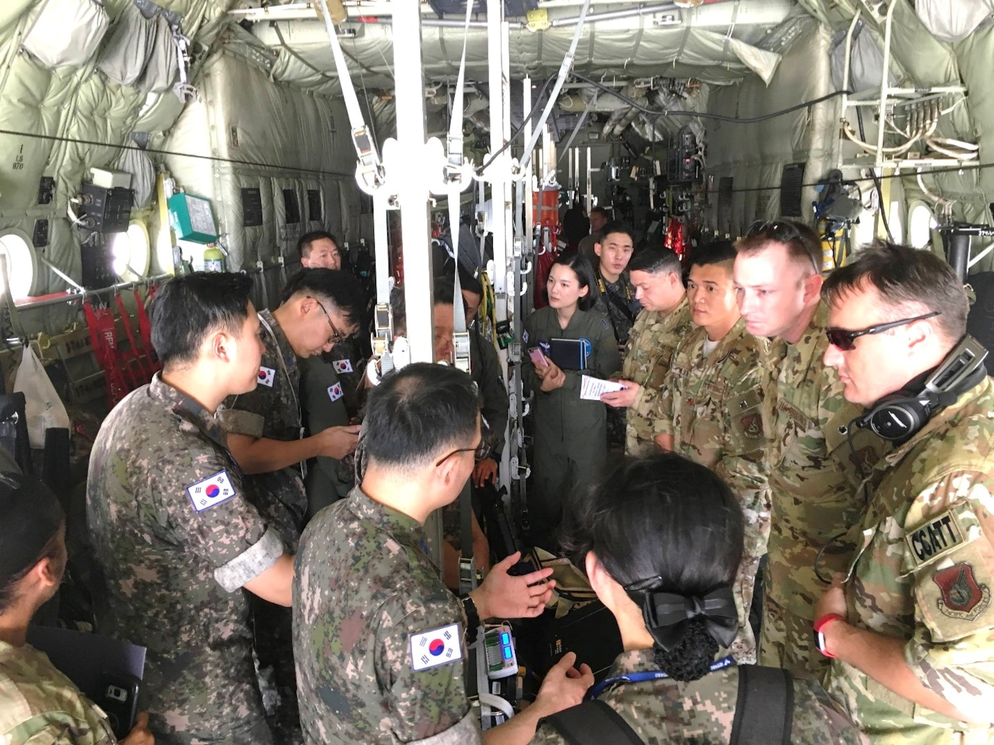 U.S., Republic of Korea Air Force medical experts conduct Subject Matter Expert Exchange