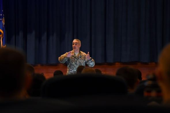 AFRICOM command senior enlisted leader visits the U.S. Air Force