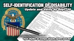 "Defense Logistics Agency employees are being asked to verify and update their disability status in MyBiz or by completing SF-256, ""Self-Identification of Disability,"" by Sept. 30 so the agency can accurately reflect its diverse workforce in fiscal 2019 reporting."