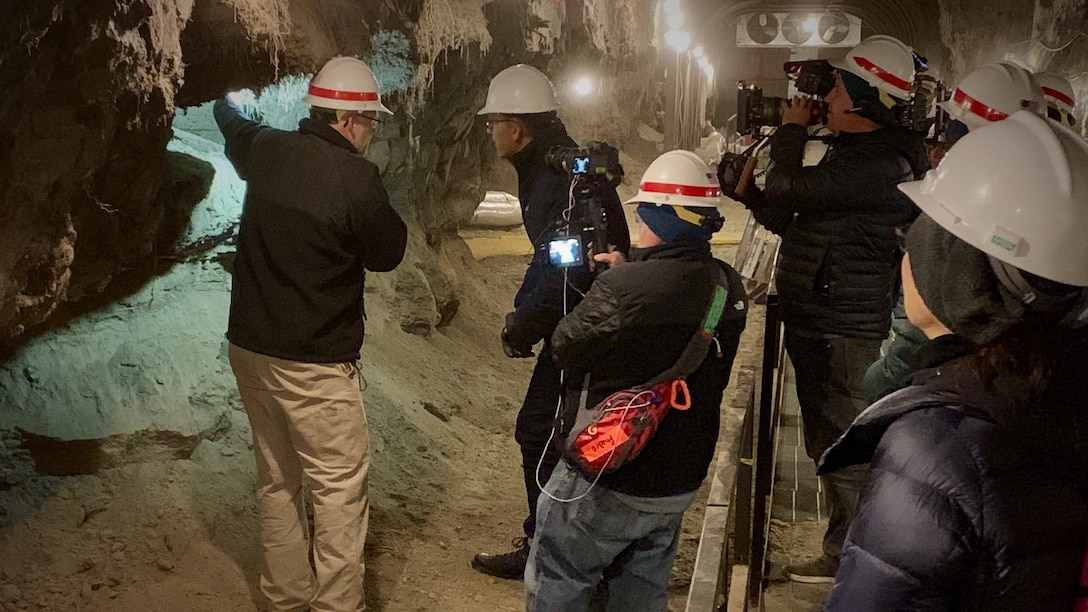 NBC'S Lester Holt to feature ERDC'S Permafrost Tunnel Sept. 16 !