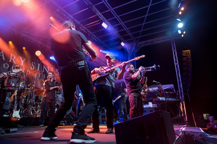 Gary Sinise Foundation hosts Pendleton's Fall Carnival
