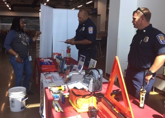DLA Installation management Richmond's emergency services hosts National Preparedness Month fair