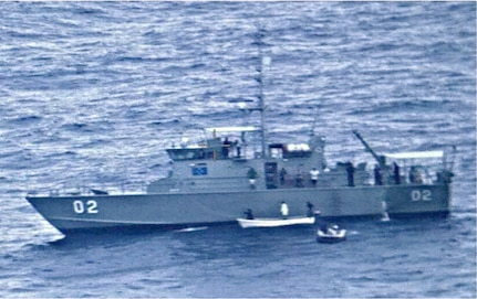 P-8A Poseidon Finds Missing Vessel in South Pacific; All Passengers Safe