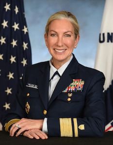 Photo of Admiral Melissa Bert