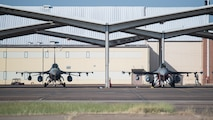 Aircraft and Airmen from Shaw Air Force Base, South Carolina, arrive to Barksdale Air Force Base, Louisiana, for Hurricane Dorian evacuation Sept. 4, 2019.