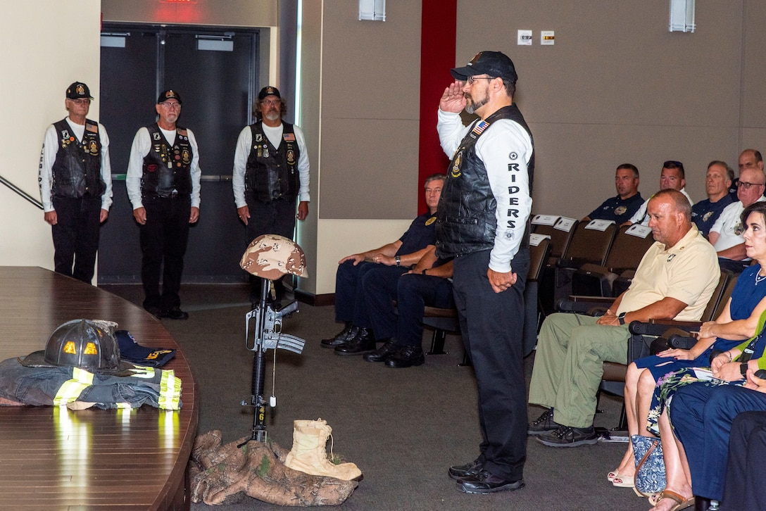 DLA Distribution holds Patriot Day Remembrance and POW/MIA Recognition Ceremony