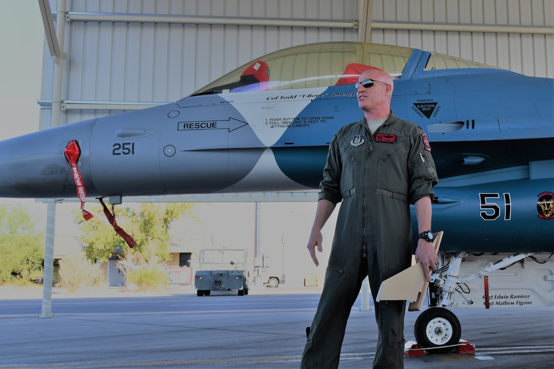 The 926th Operations Group unveils the first flagship of the Air Force Reserve's 926th Wing Sept. 12, 2019, at Nellis Air Force Base, Nevada.