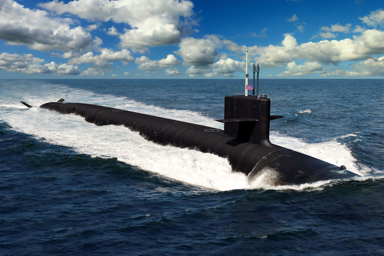 Illustration of submarine