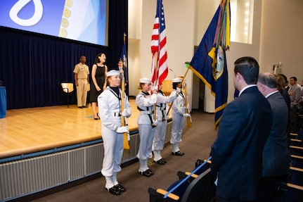 "Naval Surface Warfare Center, Carderock Division holds its 20th Annual Honor Awards, also known as the ""Magnificent Eight,"" at their West Bethesda, Md., headquarters on Sept. 10, 2019. (U.S. Navy photo by Nicholas Brezzell/Released)"