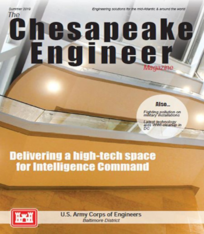 Cover, Chesapeake Engineer Magazine Summer 2019