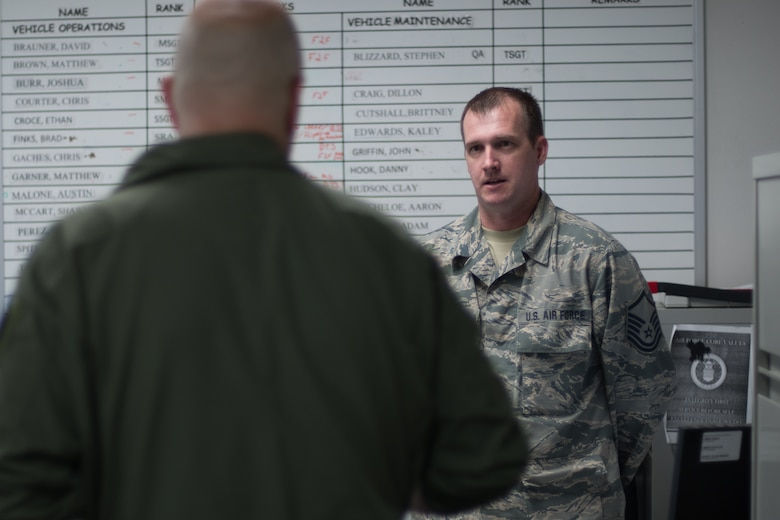 10th Air Force leadership visits 442d FW