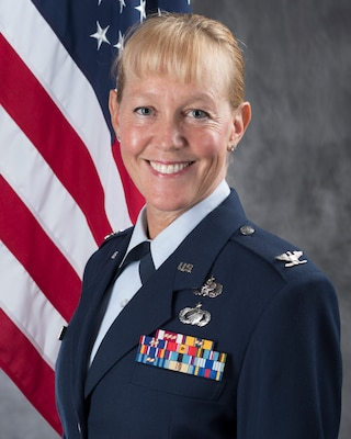 Col. Megan Erickson is the new vice commander of the 149th Fighter Wing at Joint Base San Antonio-Lackland.