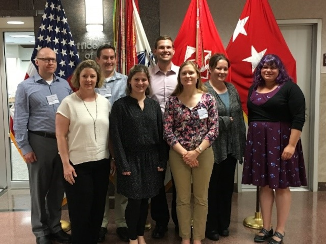 Buffalo District's own Regulatory biologist, Peter Krakowiak participates in one of eight selected for the inaugural class of the Regulatory Strong Leaders Program (SLP), created to help develop future leaders within the Regulatory Program by providing a broad approach to effective leadership, Washington D.C., May 2019. (Photo provided by Peter Krakowiak)