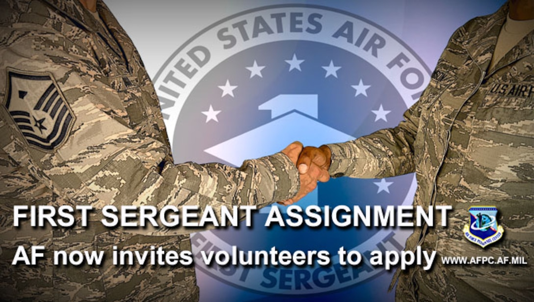 Air Force fields new hiring process for new first sergeants
