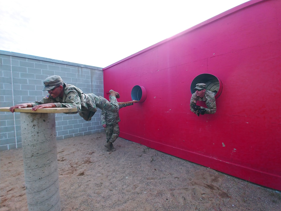 Four days with the 353rd Transportation Company