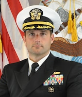 Commander Chris Addington, Executive Officer, Supervisor of Shipbuilding, Gulf Coast