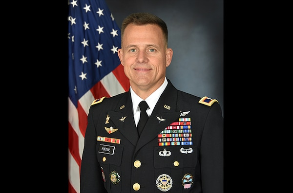 Army Col. Woodard Hopkins