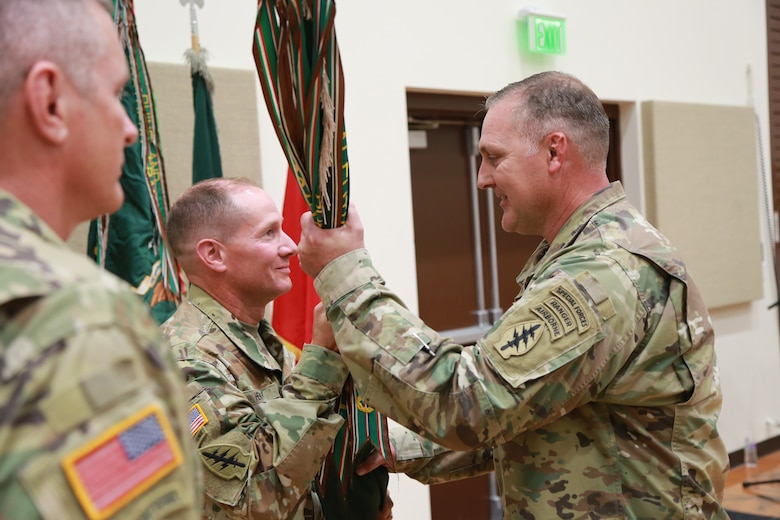 19th Special Forces Change of Command