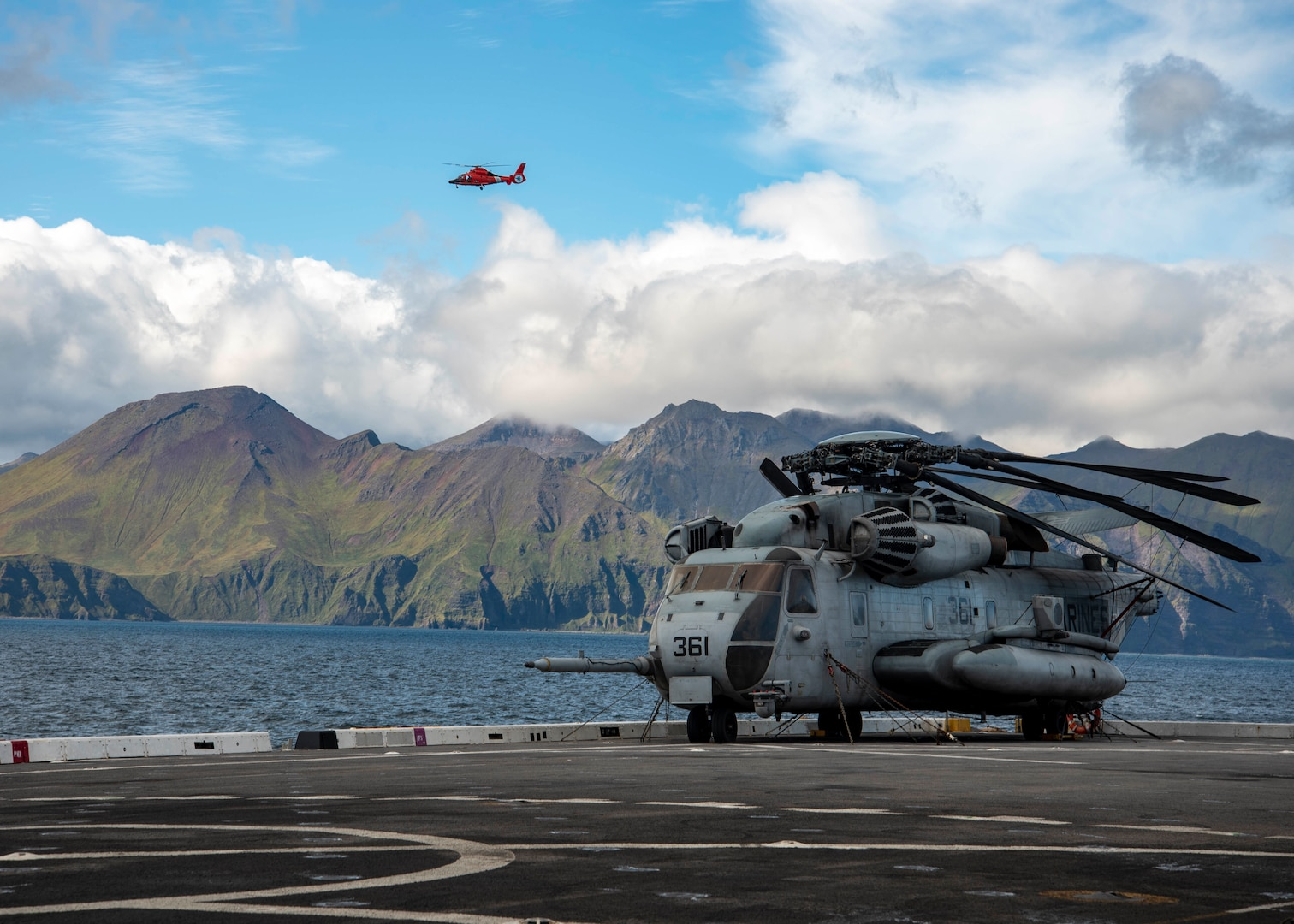 U.S. Navy and Marine Corps Conduct DSCA Training During AECE 2019