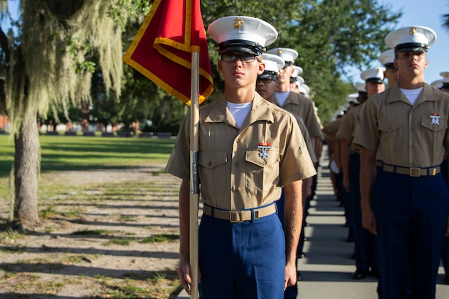 MARINE CORPS RECRUIT DEPOT PARRIS ISLAND, S.C. – A native of Belton, South Carolina, graduated from Marine Corps recruit training as a platoon honor graduate of Platoon 1074, Company D, 1st Recruit Training Battalion, September 20, 2019.