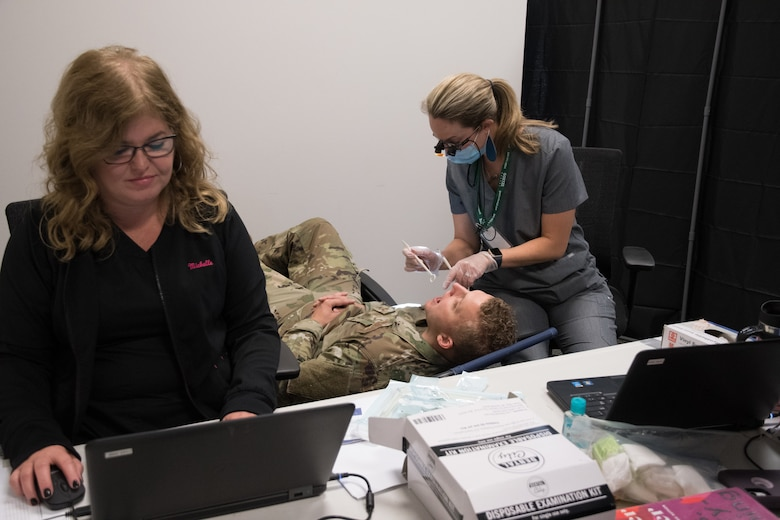 Wing prioritizes readiness, augments 442d MDS with civilian dental team for first time
