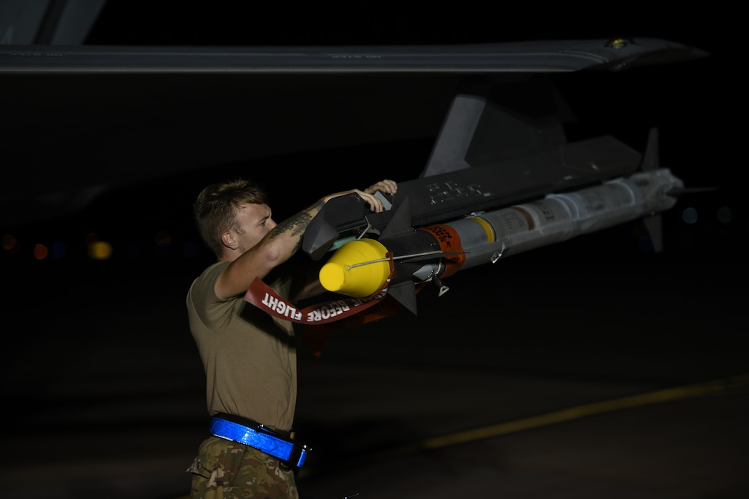 33rd Fighter Wing fires live AIM-9X missiles for the first time