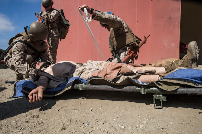 Welcome to Camp Pendleton: Field Medical Training Battalion - West