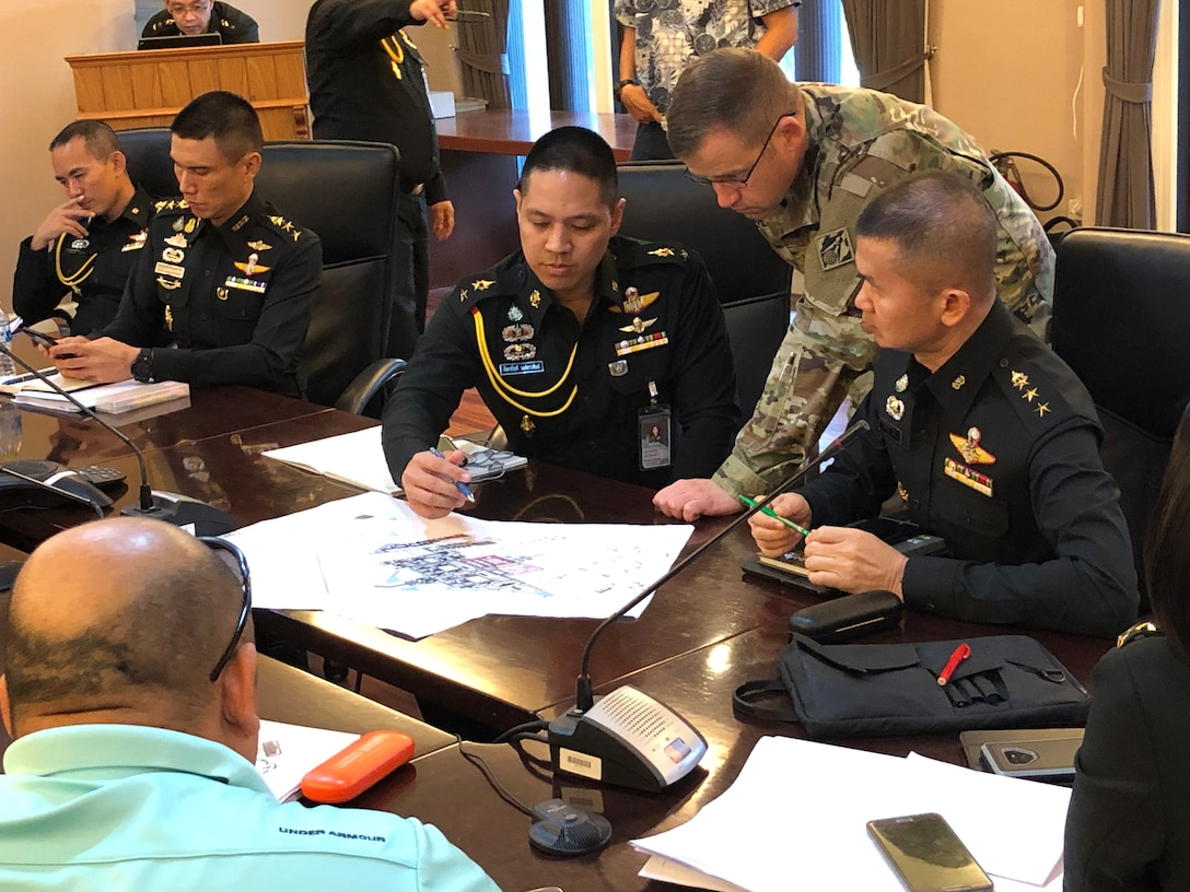 Initial meeting with Royal Thai Army