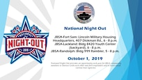 National Night Out provides an opportunity each year for JBSA community members to interact with each other and first responders and to learn about various base agencies.