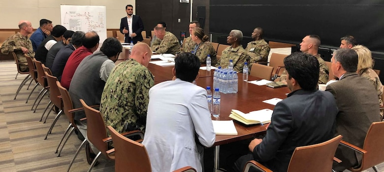 Executive Level Power Governance Meeting held September 21, 2019 at the U. S. Embassy, Kabul Afghanistan.