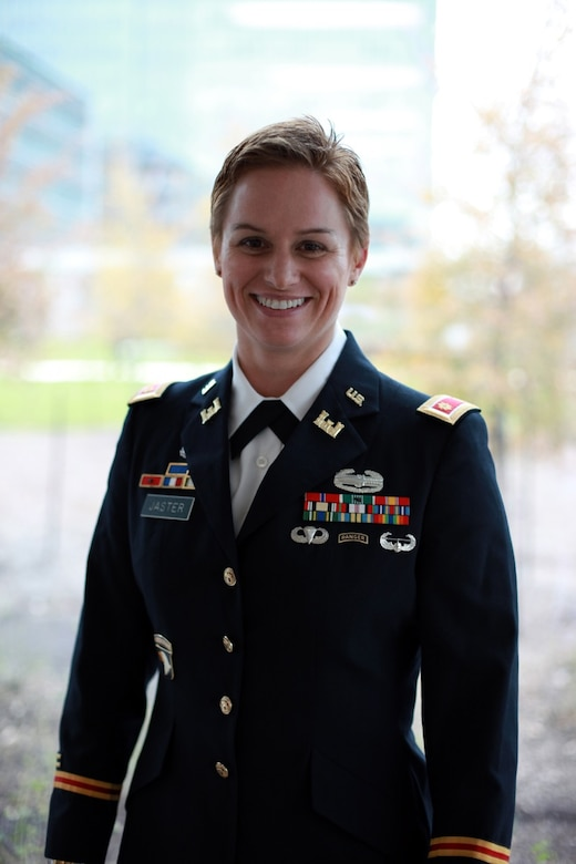 Lt. Col. Lisa Jaster continues to lead the way after historic Ranger School accomplishment