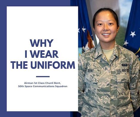 Airman 1st Class Chunli Bent, 50th Space Communications Squadron (U.S. Air Force photo illustration by Heather S. Marsh)