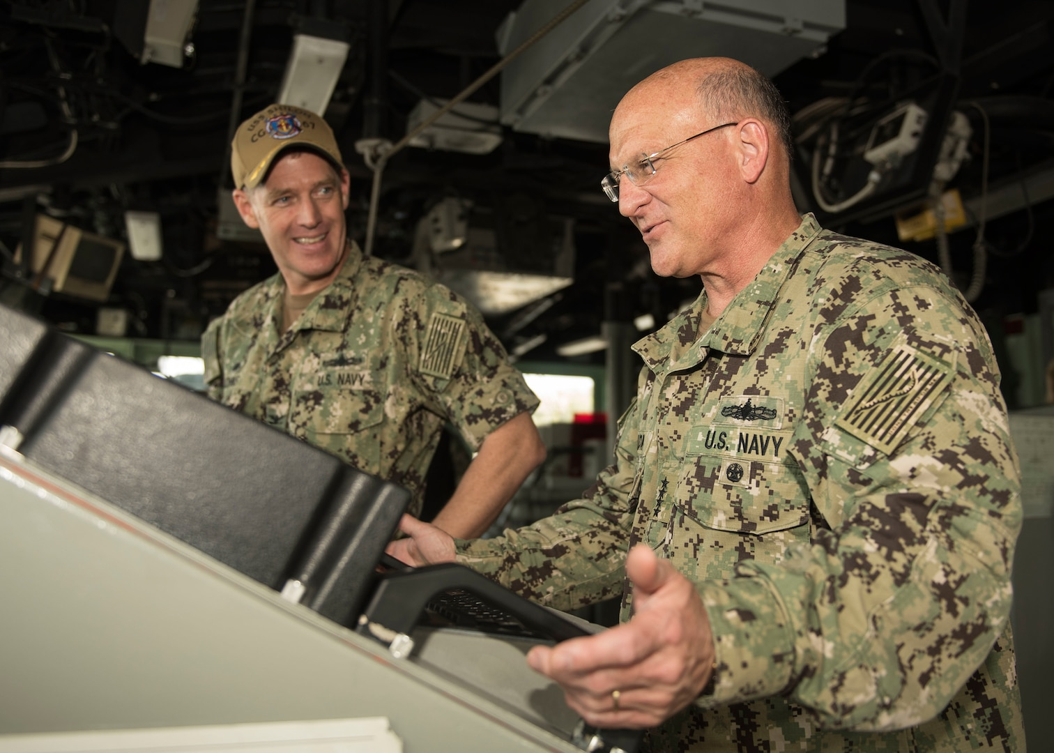 New Chief of Naval Operations Visits Japan