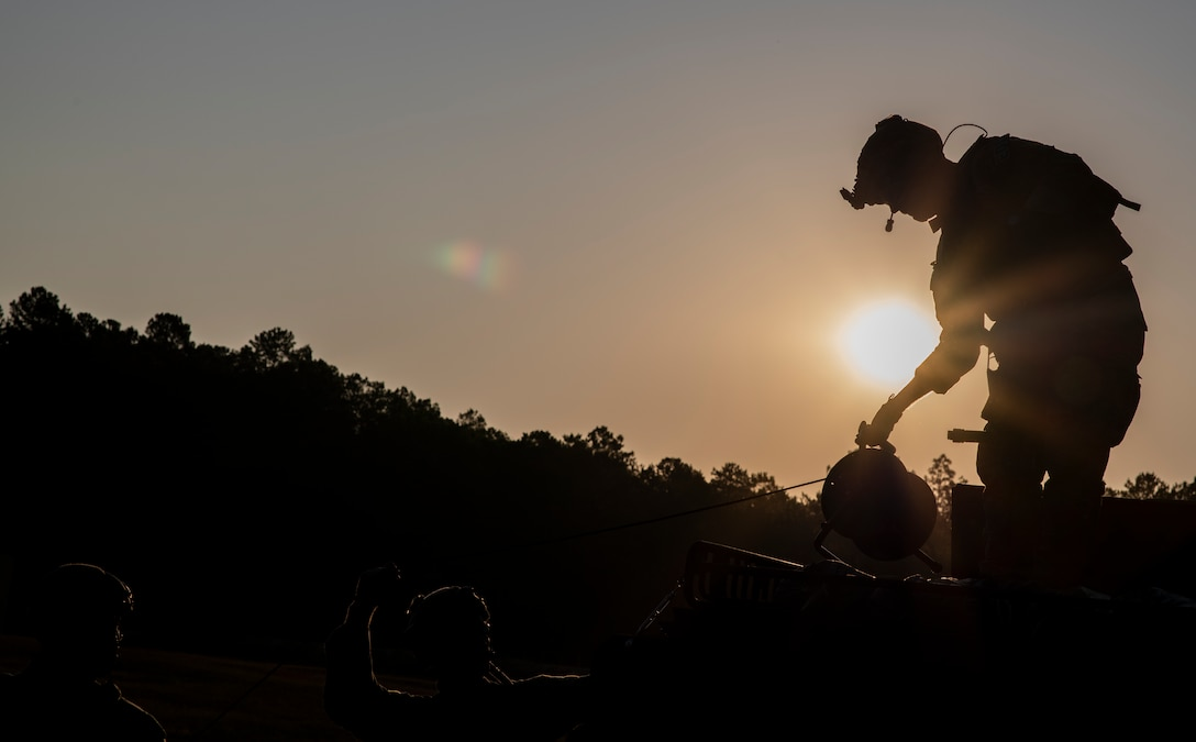 U.S. Airmen assigned to the 20th Civil Engineer Squadron explosive ordnance disposal flight participated in exercise Salty Weasel at McCrady Army National Guard Base Training Center near Columbia, South Carolina, Sept. 16 – 20.