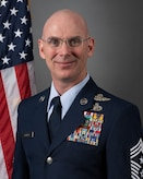 An official photo of Chief Master Sgt. Brian A. Brindle.