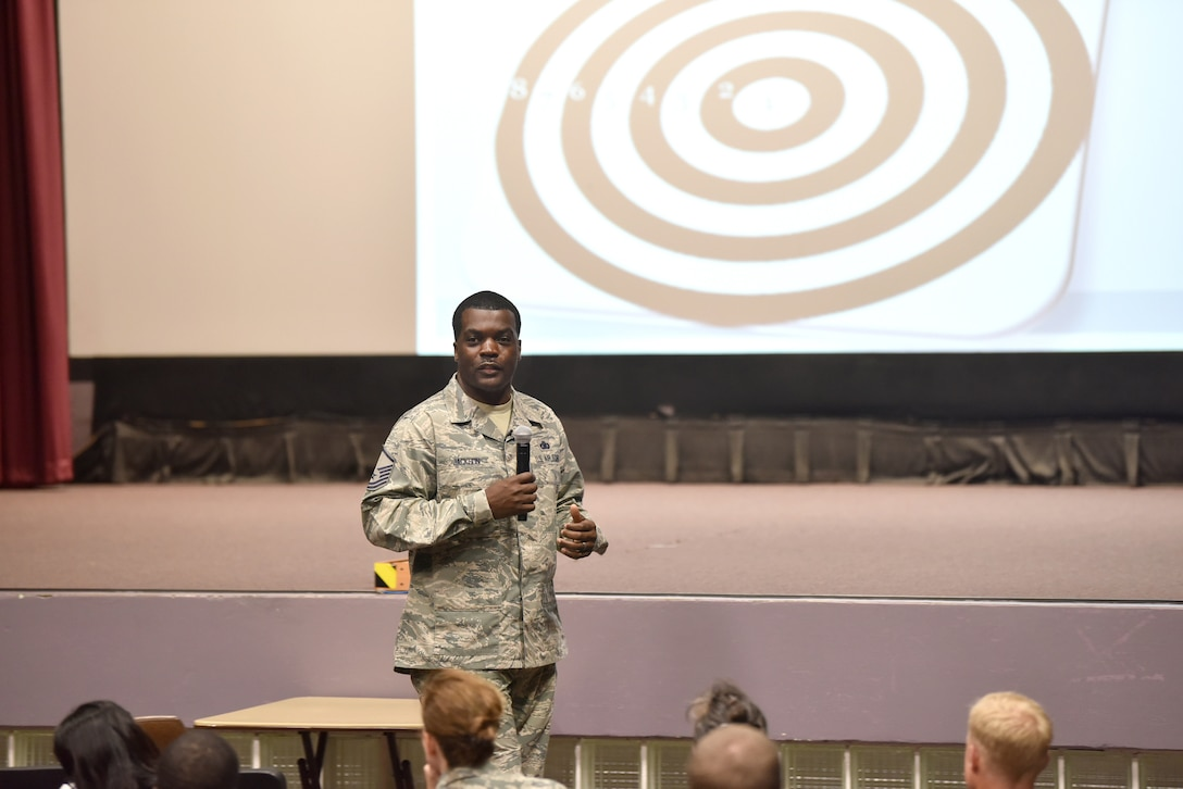 Team No Breaks: 2019 Airman of the Year, mentor host first candid, motivational talk