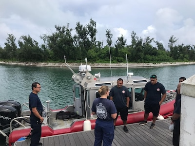 U.S. Coast Guard, Partners Conduct Mass Rescue Tabletop Exercise in Saipan