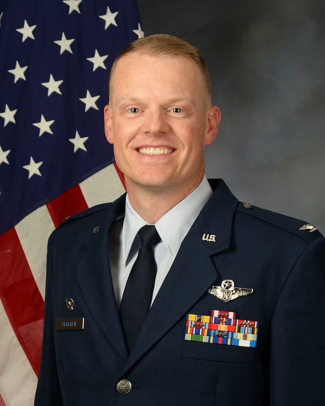 Col. Brian A. Bergren is the 225th Air Defense Squadron commander, Joint Base Lewis-McChord, Washington. (Courtesy photo)