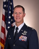 An official photo of Col. Chris Dunlap, the 165th Airlift Wing, Commander