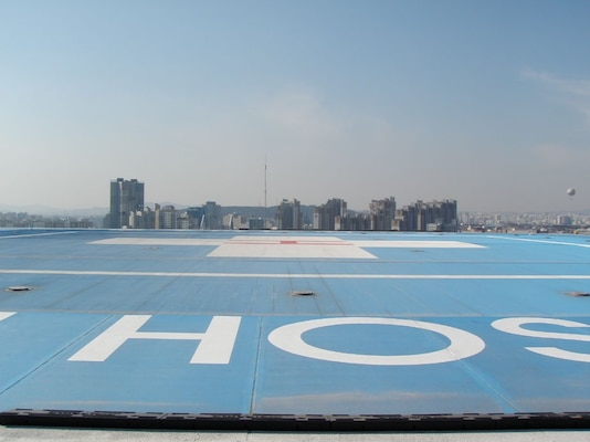 FED engineer ensures Korean helipads structurally sound for USFK aircraft
