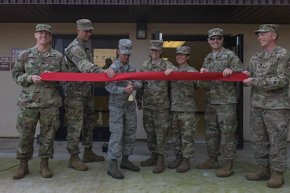 Team Osan reopens dorm after renovations