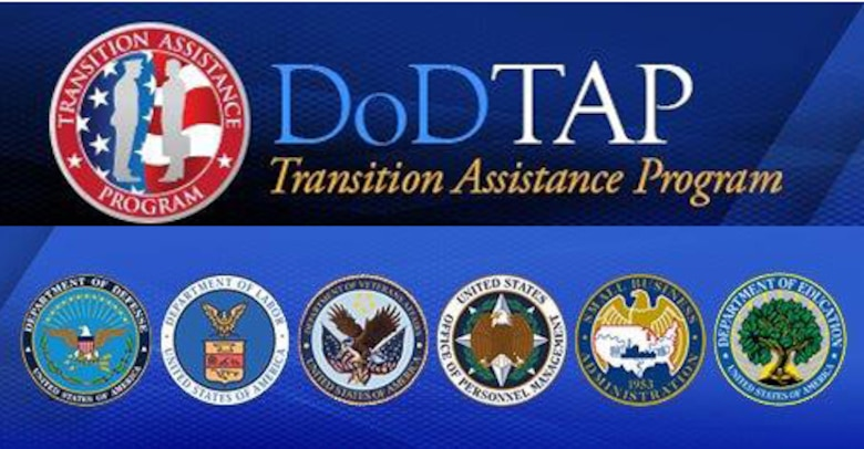 DOD TAP program seal with six department of government seals