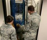 Team works on server