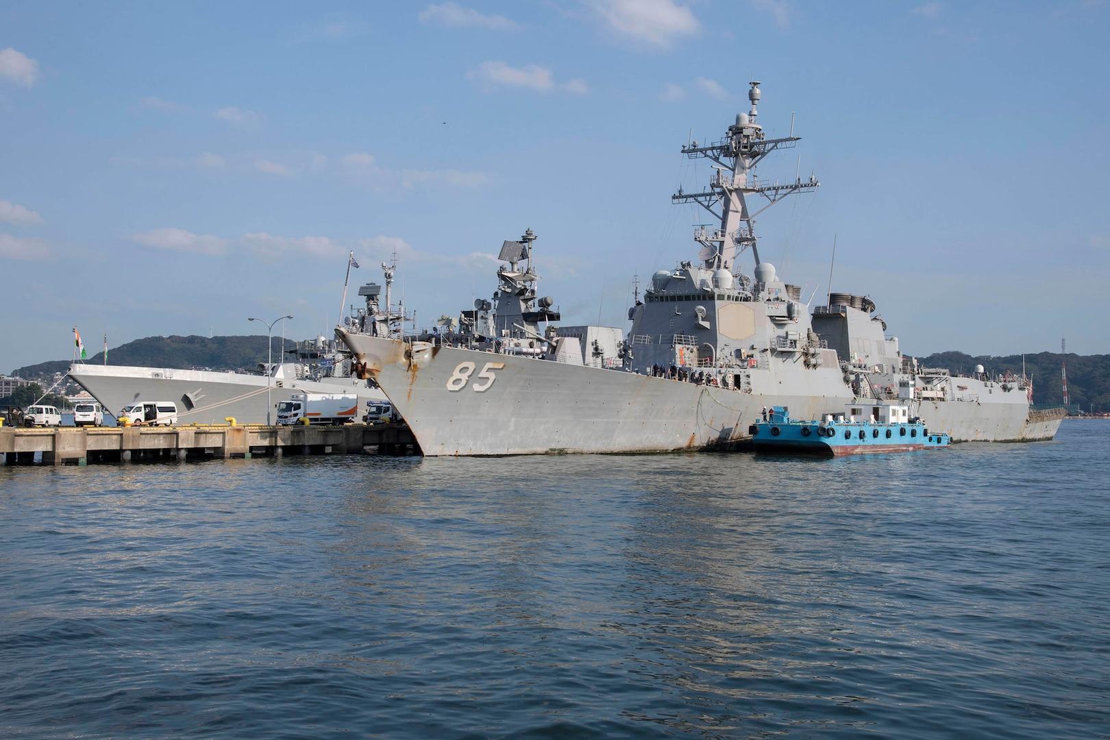 USS McCampbell Kicks Off Malabar 2019 in Sasebo