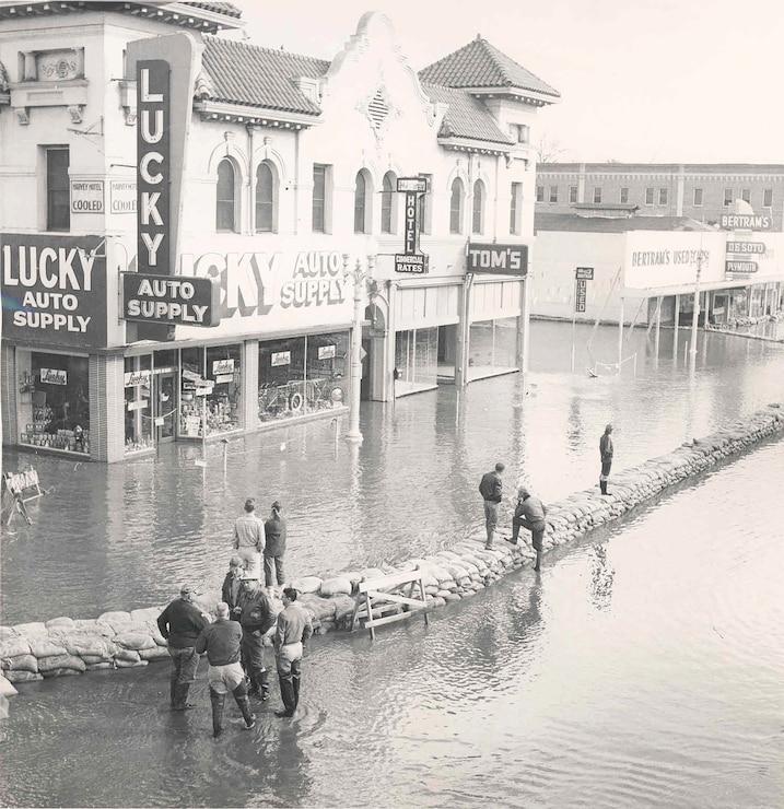 Visalia Floods 1956