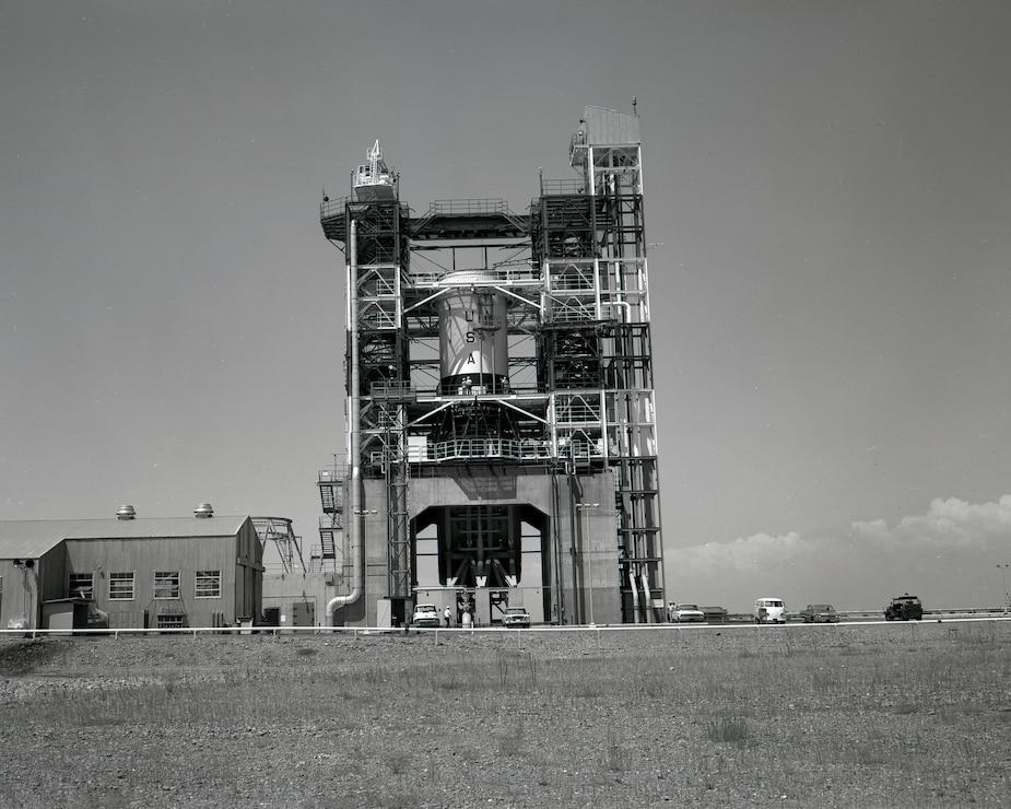 NASA S-4B Test Stand c. 1964