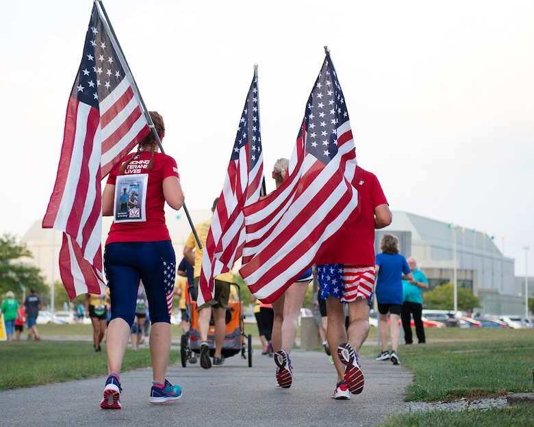 Runners participate in the 2019 Air Force Marathon 5K Race