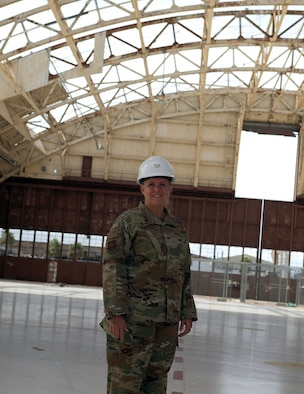 Col. Lori Walden, 325th Fighter Wing Tyndall Air Force Base Program Management Office director, poses for a photo Aug. 26, 2019, at Tyndall Air Force Base, Florida. Walden hepls the  PMO mission repair, reshape and rebuild, to support both short-term resumption of mission operations and long-term development. (U.S. Air Force photo by Senior Airman Dylan Auger)
