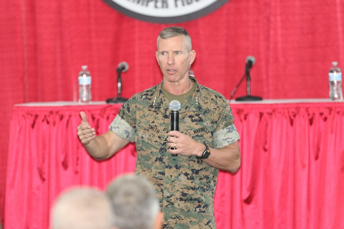 Large-scale exposition focuses on meeting the Corps' future needs