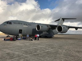 The Air Force Life Cycle Management Center delivered the last available C-17 to the Indian Air Force August 22.